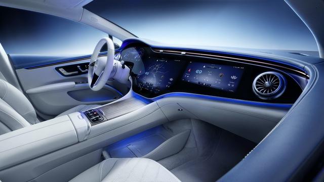 Mercedes-Benz EQS: Dạy cho Tesla biết xe điện cao cấp là như thế nào - Ảnh 1.