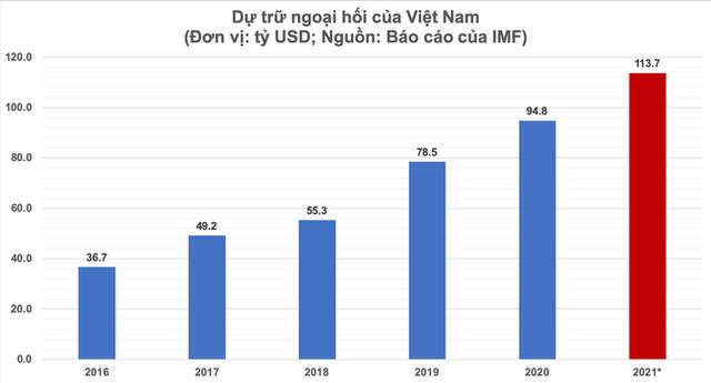 Dự trữ ngoại hối Việt Nam sẽ sớm vượt xa mốc 100 tỷ USD - Ảnh 1.