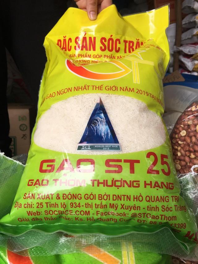 Loạn thị trường gạo ngon nhất thế giới ST25 - Ảnh 1.