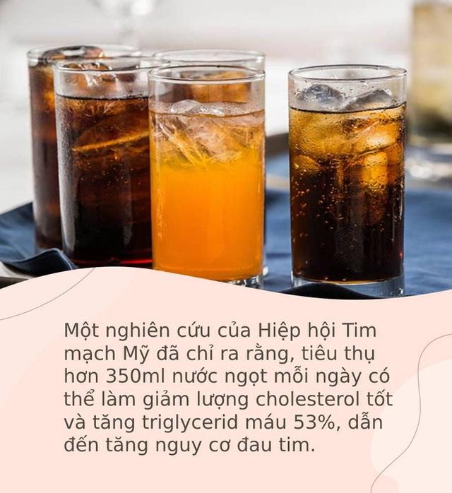 6 loại đồ uống cực kỳ ngon miệng, ai cũng thích vào mùa nóng nhưng làm tăng nguy cơ đau tim - Ảnh 1.