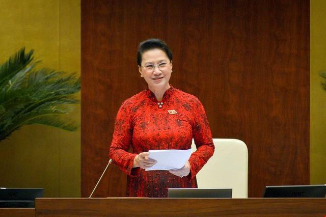 Miễn nhiệm Chủ tịch Quốc hội và bầu Chủ tịch Quốc hội mới  - Ảnh 1.