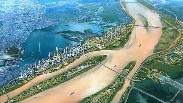 Quy hoạch phân khu đô thị sông Hồng: Tránh bê tông hóa, điều chỉnh quy hoạch tùy tiện - Ảnh 1.