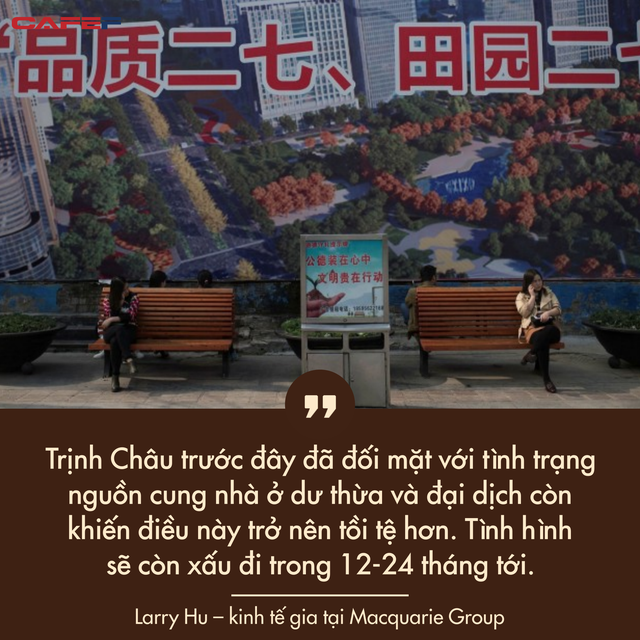 Chật vật bán nhà trong nhiều tháng, một thành phố ở Trung Quốc khổ sở sau cơn sốt bất động sản  - Ảnh 1.