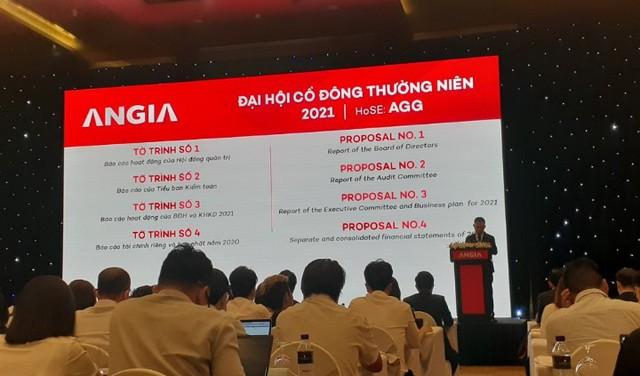 ĐHCĐ An Gia: Chi 3.000-5.000 tỉ đồng để phát triển quỹ đất làm dự án BĐS trong vòng 3 năm tới - Ảnh 1.