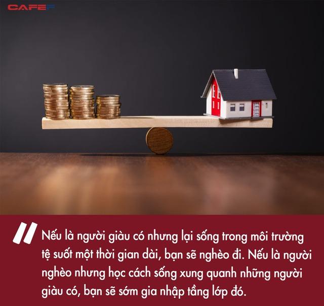 Cùng bỏ ra một số tiền như nhau, tại sao người giàu chọn thuê nhà còn người bình thường muốn mua đứt? Khác biệt nằm ở tầm nhìn của mỗi người - Ảnh 2.