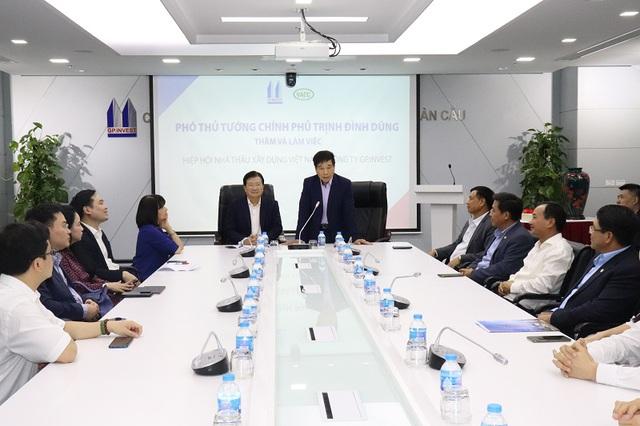Phó Thủ tướng Trịnh Đình Dũng: Ngành xây dựng Việt Nam đang đứng trước rất nhiều thời cơ - Ảnh 1.