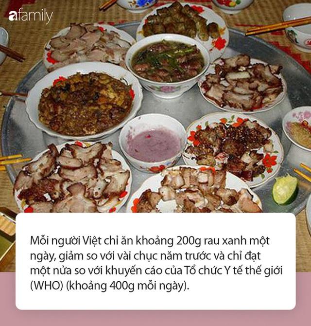 Thói quen ăn nhiều thịt, ít rau đang âm thầm hủy hoại sức khỏe của người Việt - Ảnh 2.