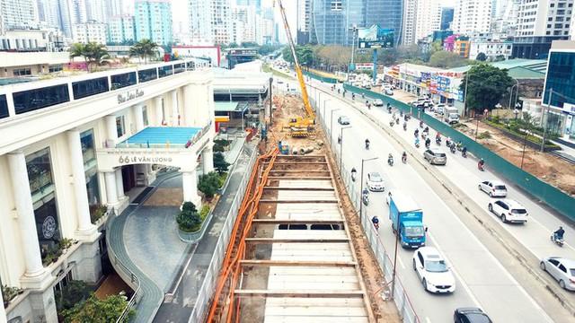 Tăng tốc thi công hầm chui đường bộ nút giao Lê Văn Lương - Khuất Duy Tiến - Ảnh 5.