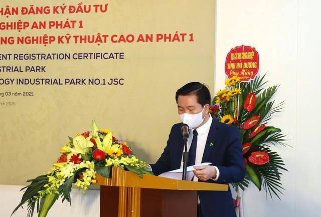 KCN Quốc Tuấn - An Bình của An Phát Holdings nhận giấy chứng nhận đăng ký đầu tư, chính thức đổi tên thành KCN An Phát 1 - Ảnh 3.
