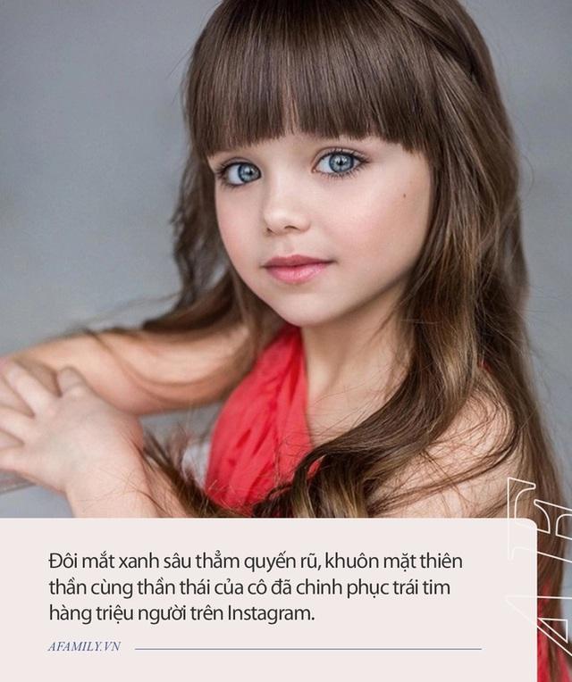 Cô bé người Nga được mệnh danh đẹp nhất thế giới 4 năm trước: Hiện tại vẫn gây sốt vì quá xinh đẹp, bất ngờ nhất là chuyện học hành - Ảnh 1.