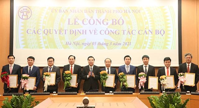 Hà Nội bổ nhiệm thêm 9 lãnh đạo cấp Sở, đơn vị trực thuộc Thành phố - Ảnh 1.