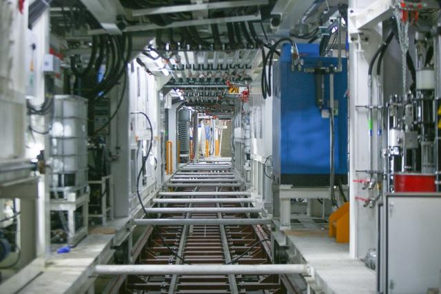 Tận mắt Robot sẵn sàng đào hầm tuyến đường sắt đô thị số 3, đoạn Nhổn - ga Hà Nội - Ảnh 7.