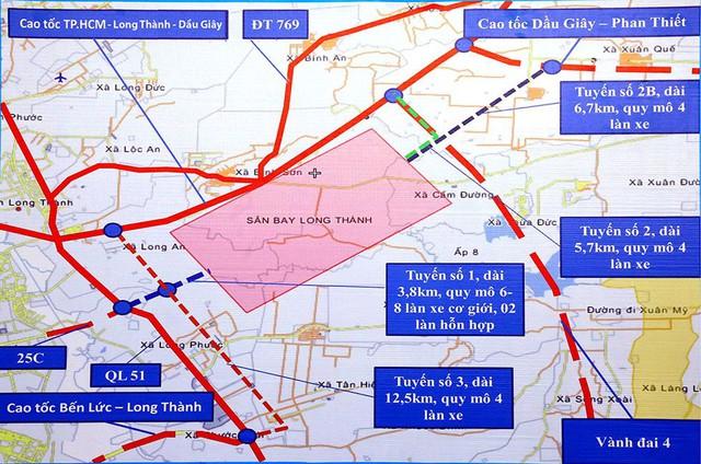 Sẵn sàng vốn cho 2 tuyến đường kết nối sân bay Long Thành - Ảnh 1.