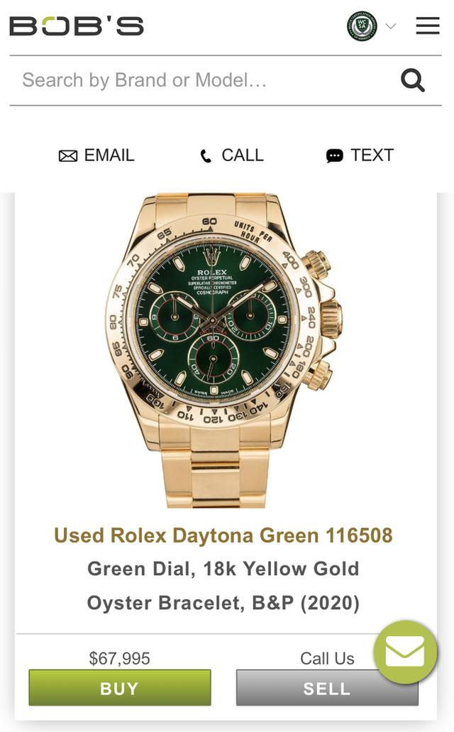 Giới siêu giàu chơi net ở đẳng cấp khác: Có app riêng để mua đồng hồ Rolex, quẹt trái phải như Tinder chốt đồ tiền tỷ - Ảnh 5.