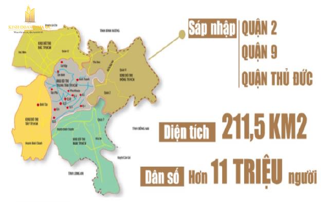5 khu vực sẽ hình thành các đô thị mới quy mô lớn tại Tp.HCM - Ảnh 1.