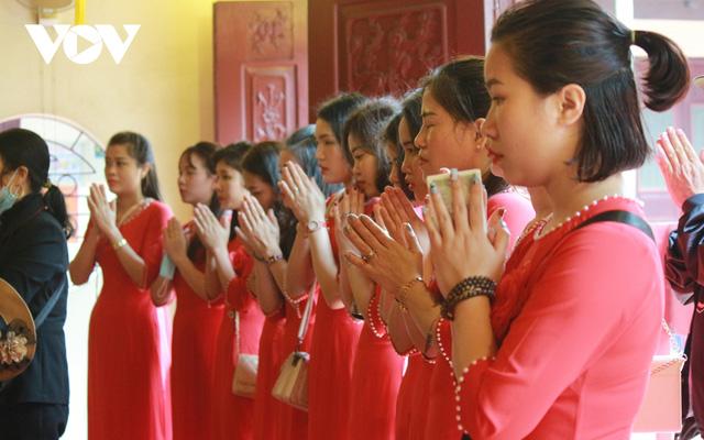 Chùa chiền ở Hà Nội được mở cửa trở lại và đảm bảo phòng chống dịch - Ảnh 15.