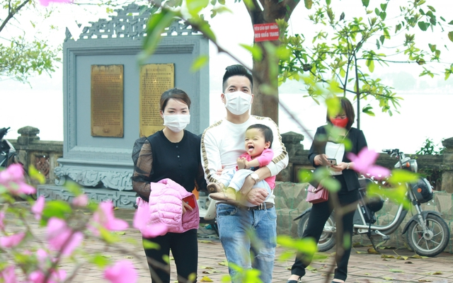 Chùa chiền ở Hà Nội được mở cửa trở lại và đảm bảo phòng chống dịch - Ảnh 19.