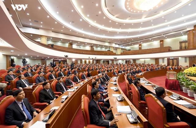 Ảnh: Toàn cảnh phiên bế mạc Hội nghị Trung ương 2, khóa XIII - Ảnh 4.