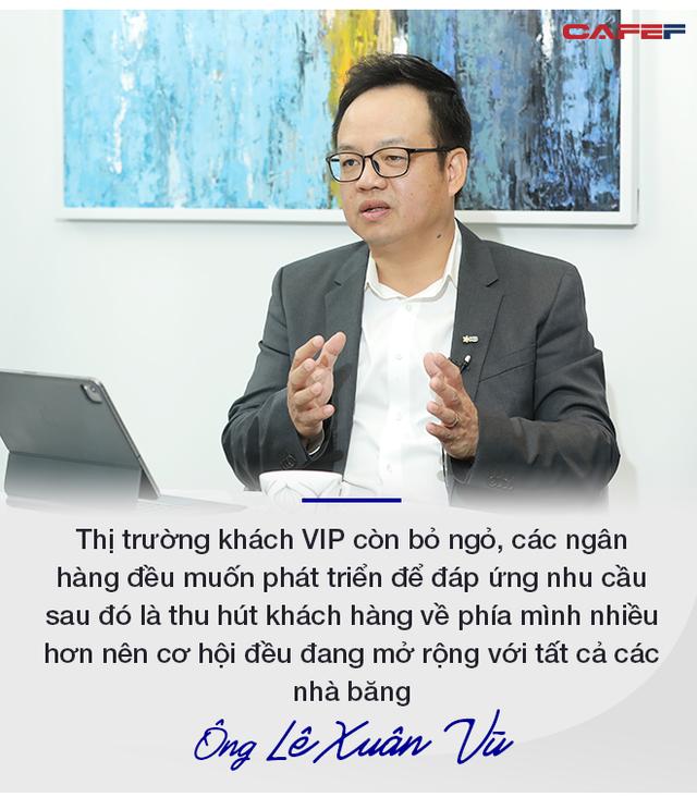 """""""Sếp"""" MB: Tốc độ tăng trưởng của người giàu ở Việt Nam đang nhanh thứ 4 thế giới, các ngân hàng sẽ cạnh tranh mạnh để hút khách VIP - Ảnh 9."""