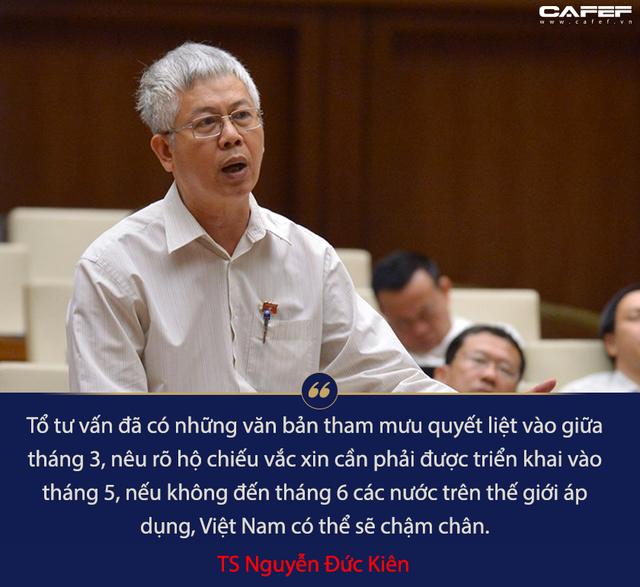 TS Nguyễn Đức Kiên: Chậm thực hiện hộ chiếu vắc xin, Việt Nam sẽ mất cơ hội tận dụng thành quả chống dịch Covid-19 - Ảnh 2.