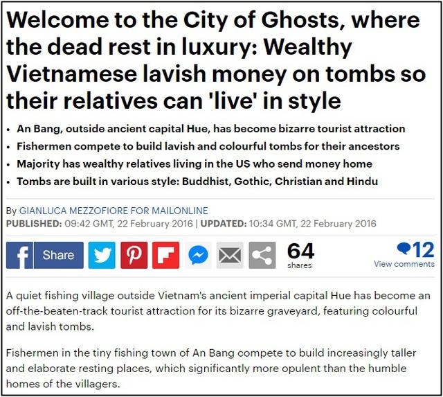 Chuyện về thành phố ma xa hoa kỳ bí ở Huế khiến cộng đồng mạng quốc tế trầm trồ, lăng mộ tiền tỷ chờ người đang sống, đến người chết cũng có thể giúp hái ra tiền - Ảnh 3.