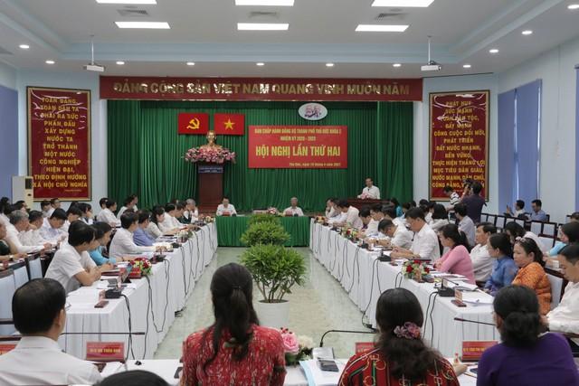 Bí thư Nguyễn Văn Nên: Bảo vệ cán bộ dám nghĩ, dám làm  - Ảnh 1.