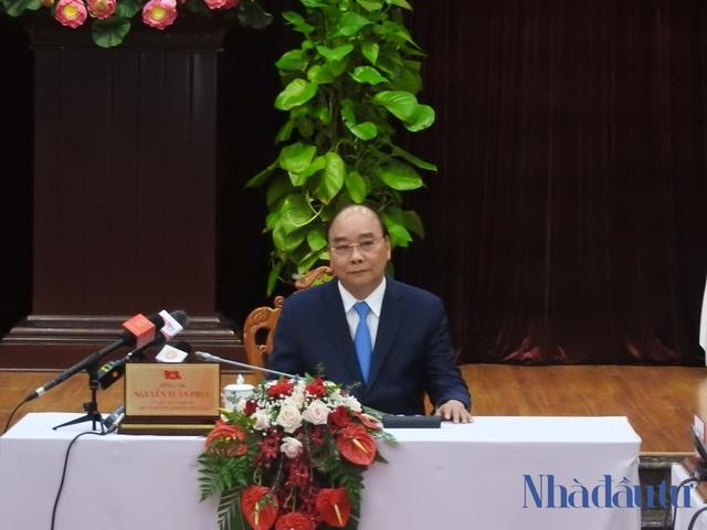 Chủ tịch nước Nguyễn Xuân Phúc: Đà Nẵng - Quảng Nam phải là đầu tàu tăng trưởng miền Trung - Ảnh 1.