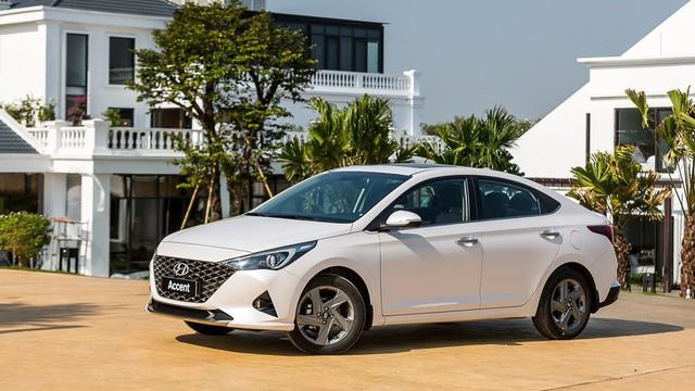 Sức bán tăng vọt, Hyundai Accent là vua doanh số của TC Motor trong tháng 3 - Ảnh 1.