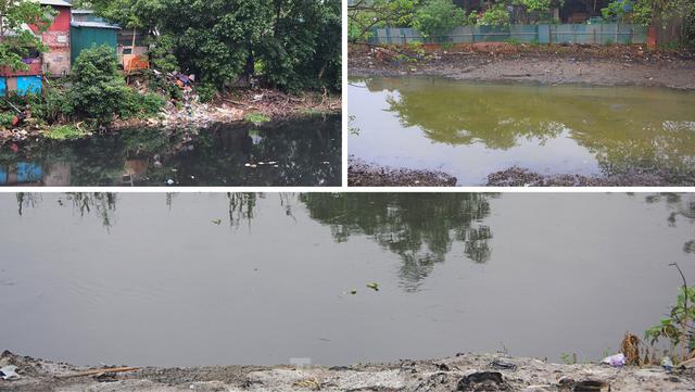 Cận cảnh những dòng sông đen chảy giữa nội thành Hà Nội  - Ảnh 13.