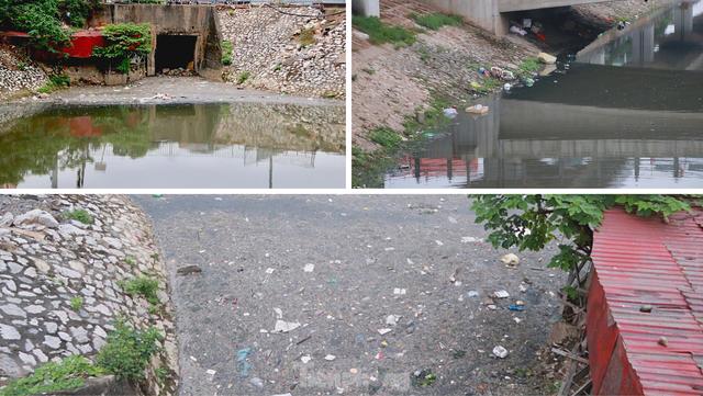 Cận cảnh những dòng sông đen chảy giữa nội thành Hà Nội  - Ảnh 9.