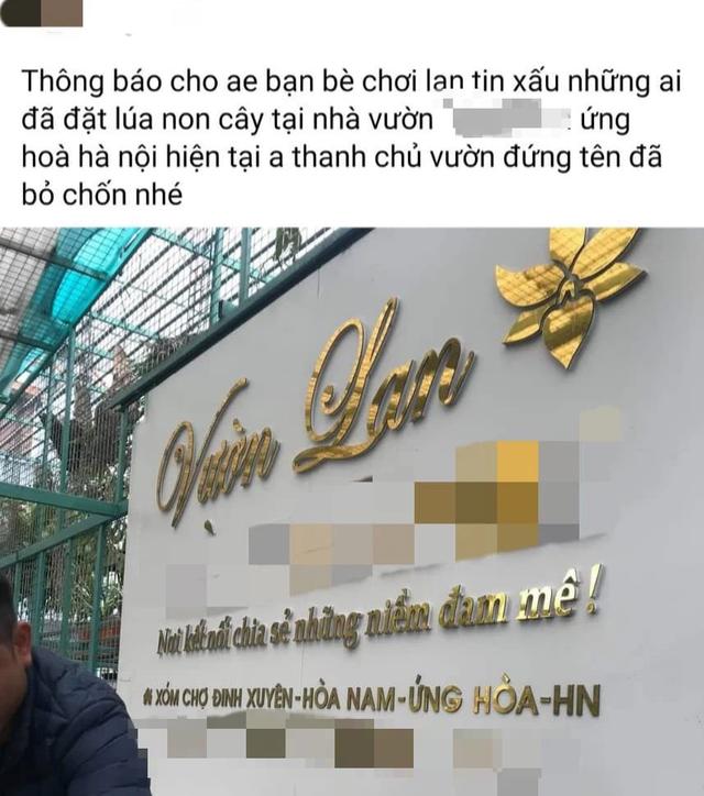 Xôn xao tin chủ vườn lan ở Hà Nội ôm 200 tỷ đồng khách đặt mua rồi bỏ trốn - Ảnh 1.