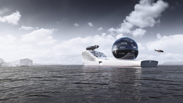 Pháo đài nổi Earth 300: Siêu du thuyền lớn nhất hành tinh sắp làm rung chuyển thế giới Superyacht - Ảnh 1.