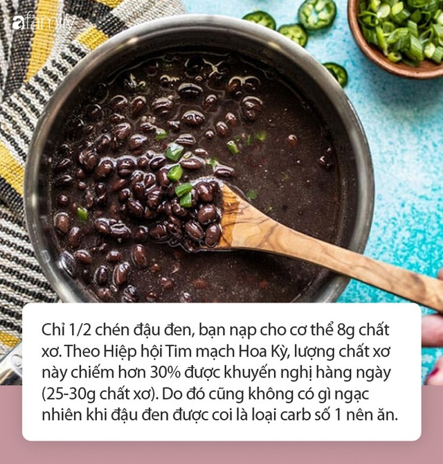 Có 5 thay đổi diệu kì sẽ đến với cơ thể bạn khi ăn đậu đen đều đặn mỗi ngày - Ảnh 2.