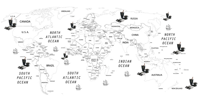 Tinh thần bảo tồn và sáng tạo văn hóa thưởng thức cà phê thế giới - Ảnh 2.