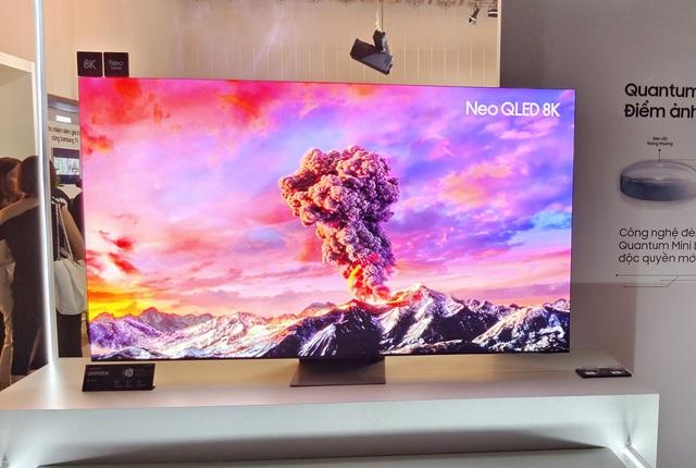 Samsung đưa dòng TV đầu bảng Neo QLED 8K về Việt Nam: Màn hình vô cực giống điện thoại, giá cao nhất 230 triệu đồng - Ảnh 2.