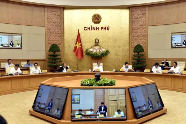 Chùm ảnh Chính phủ họp phiên đầu tiên sau khi kiện toàn  - Ảnh 2.