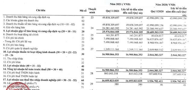 Thủy điện Sê San 4A (S4A): Quý 1 lãi 16 tỷ đồng, cao gấp 8 lần cùng kỳ 2020 - Ảnh 1.