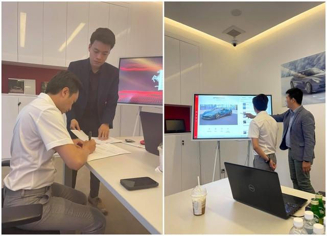 Mới mua 2 xe cách đây không lâu, doanh nhân Nguyễn Quốc Cường lại rước thêm Ferrari SF90 Stradale chính hãng về Việt Nam với màu ngoại thất khác biệt - Ảnh 2.