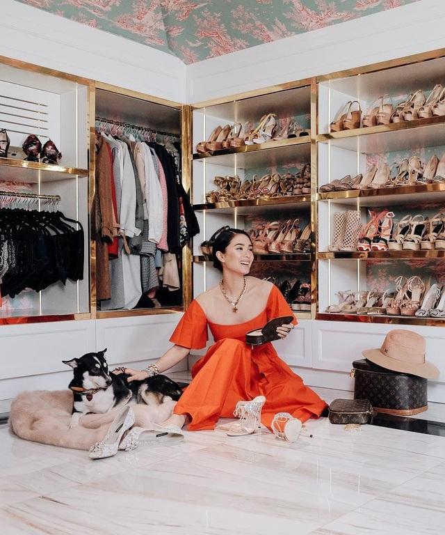 Cuộc sống vương giả của nguyên mẫu Crazy Rich Asians: Sinh ra ngậm thìa vàng, kết hôn với nghị sĩ quyền lực Philippines, sở hữu bộ sưu tập túi xách Hermès Birkin tương đương với vợ tỷ phú giàu nhất châu Á  - Ảnh 4.