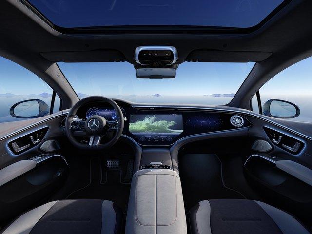 Siêu phẩm xe điện Mercedes-Benz EQS chính thức ra mắt: Tầm hoạt động 770 km, hiện đại như robot - Ảnh 8.