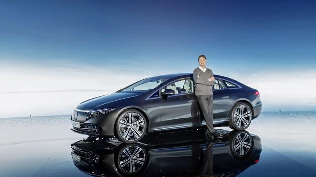 Siêu phẩm xe điện Mercedes-Benz EQS chính thức ra mắt: Tầm hoạt động 770 km, hiện đại như robot - Ảnh 2.