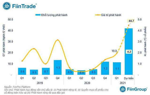 Doanh nghiệp niêm yết sắp huy động gần 45.000 tỷ đồng qua phát hành tăng vốn, Vietnam Airlines và HAGL Agrico đầu bảng - Ảnh 1.