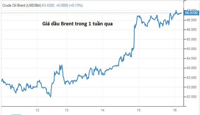 Giá dầu đạt đỉnh 4 tuần do triển vọng nhu cầu tươi sáng - Ảnh 1.