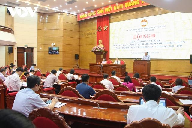Quảng Ninh có 10 người ứng cử Đại biểu Quốc hội, gấp 2,5 lần số người được bầu  - Ảnh 1.