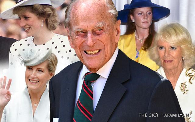 Quan hệ tốt đẹp của Hoàng tế Philip và các nàng dâu: Công nương Diana nhận sự đối đãi đặc biệt nhưng vẫn chưa phải là người được yêu quý nhất - Ảnh 1.