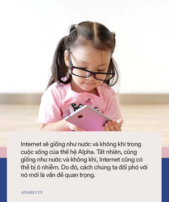 Thế hệ Alpha cần internet như nước và không khí, nhưng không làm được việc này cha mẹ sẽ khiến con bị ô nhiễm - Ảnh 3.