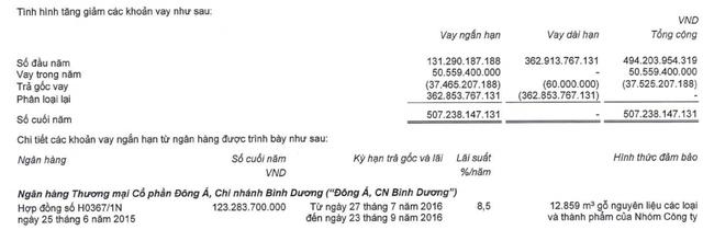 Gỗ Trường Thành (TTF): Khẳng định là phương án duy nhất song sau 1 năm rao bán vẫn chưa tìm được bên mua lại khoản nợ hơn 123 tỷ tại DongABank - Ảnh 1.