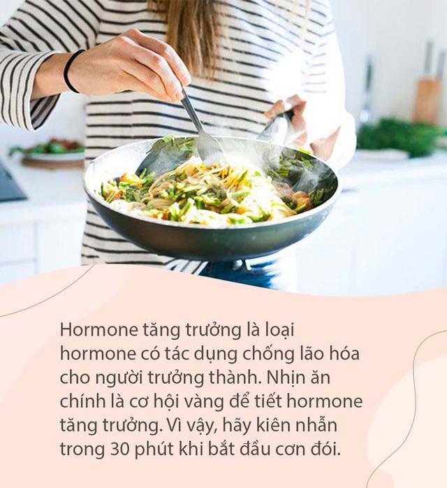 Trẻ hóa cơ quan nội tạng với phương pháp của chuyên gia Nhật: Nhịn đói 30 phút trước bữa ăn - Ảnh 2.