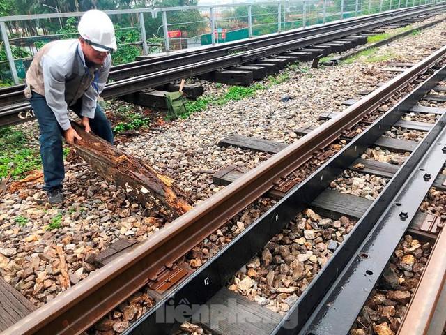 Hệ thống đường sắt quốc gia đi qua Hà Nội xuống cấp thê thảm - Ảnh 4.