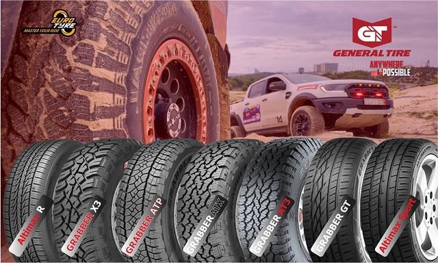 General Tire – dòng lốp đậm chất Mỹ cho nhiều dòng xe ô tô thể thao mới nhất - Ảnh 2.
